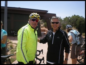 Former/Future Mayor of Park City, Brad Olch with Governor Jon Huntsman at Dead Horse Point