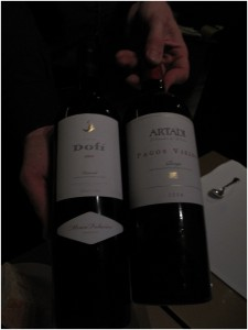 Great wines Dofi &amp; Artadi